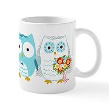 Owls Wedding Small Mugs