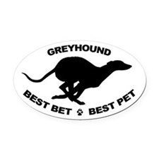 Best Pet Oval Car Magnet, Black GH