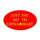 Cute Cheap Oval Car Magnet