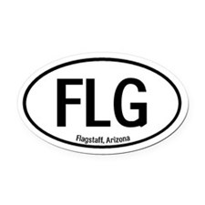 Flagstaff, Arizona Oval Car Magnet