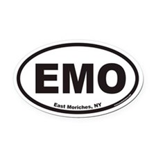 East Moriches EMO Euro Oval Car Magnet