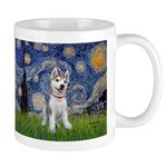 Starry-Siberian pup Mug