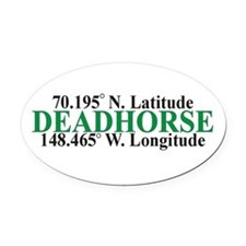 DeadHorse Oval Car Magnet