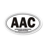 AAC Oval Car Magnet