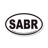 Society for American Baseball Research SABR Oval