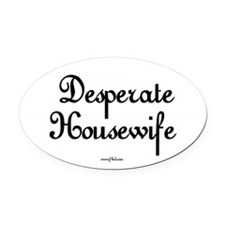 Desperate Housewife Oval Car Magnet