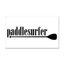 Paddlesurfer Rectangle Car Magnet