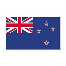 New Zealand Rectangle Car Magnet
