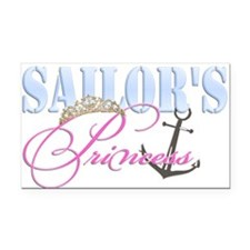 Sailor's Princess Rectangle Car Magnet