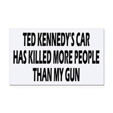 Kennedy's Car Rectangle Car Magnet