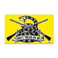 Don't Tread on Me - Rifles Rectangle Car Magnet