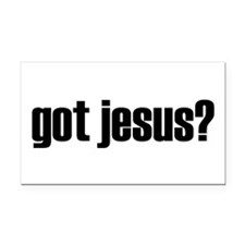 Got Jesus? Rectangle Car Magnet