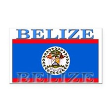 Belize Belizean Flag Rectangle Car Magnet