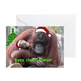 Christmas Orangutans Greeting Cards (Pk of 10)