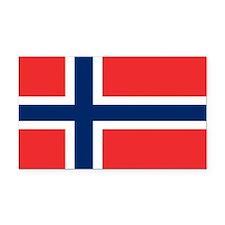 Norway Flag Rectangle Car Magnet