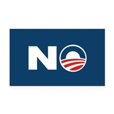 Unique No obama Rectangle Car Magnet
