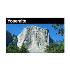 Yosemite National Park Rectangle Car Magnet