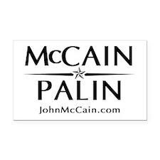 McCain / Palin Official Logo Rectangle Car Magnet