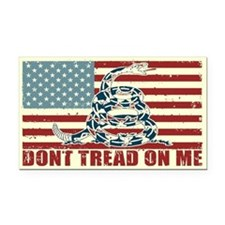Don't Tread On Me Rectangle Car Magnet