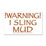 Mudslinger Rectangle Car Magnet