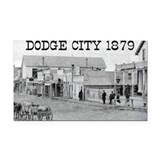 Dodge City 1879 Rectangle Car Magnet