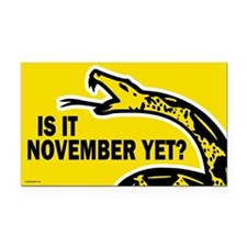Is it November Yet? Rectangle Car Magnet