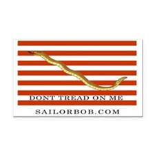 First Navy Jack Rectangle Car Magnet