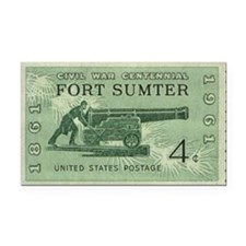 Fort Sumter Civil War Rectangle Car Magnet