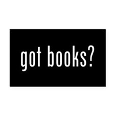 Cute Books Rectangle Car Magnet