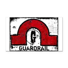 Guardrail Rectangle Car Magnet
