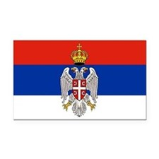 Serbian Bumper Rectangle Car Magnet