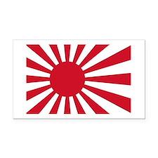Cute Japanese flag Rectangle Car Magnet