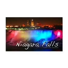 Niagara Falls Rectangle Car Magnet