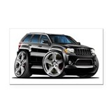 Jeep Cherokee Black Car Rectangle Car Magnet