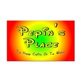 Pepin's Place Rectangle Car Magnet