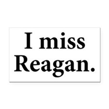 I Miss Reagan Rectangle Car Magnet
