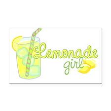 Lemonade Girl Rectangle Car Magnet