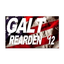 Galt Rearden 2012 Flag Rectangle Car Magnet