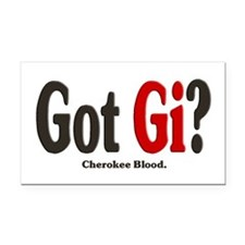 Got Gi? Rectangle Car Magnet