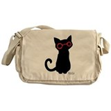 Nerdy Kitty Messenger Bag