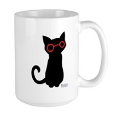Nerdy Kitty Mug