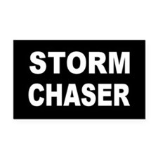 Storm Chaser Rectangle Car Magnet