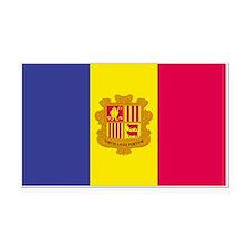 Andorra Rectangle Car Magnet