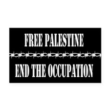 Cool Palestine car Rectangle Car Magnet