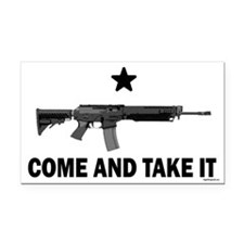 Come & Take It (3) Rectangle Car Magnet