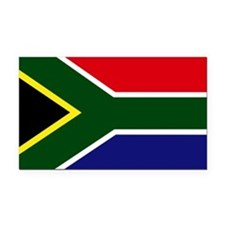 South African flag Rectangle Car Magnet
