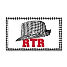 RTR hat Rectangle Car Magnet