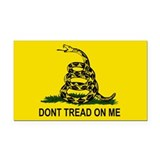 Gadsden Flag Rectangle Car Magnet