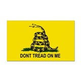 Gadsden Flag-DONT TREAD ON ME Rectangle Car Magnet