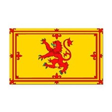 Scottish Royal Flag Rectangle Car Magnet